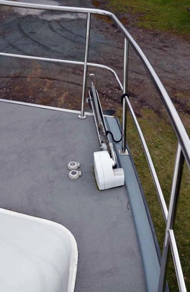 Starboard Windlass & Anchor