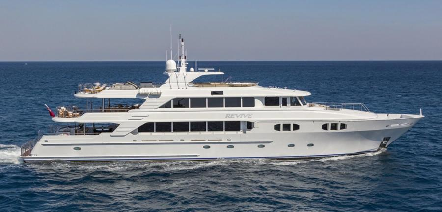 photo of 150' Richmond Yachts Tri-deck Motor Yacht 2013