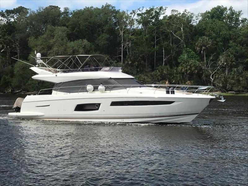 Prestige-550 2015-Higher Powered II Palm Coast-Florida-United States-Starboard Profile-1396021-featured