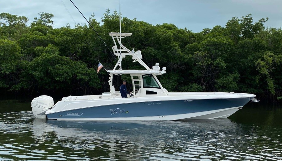 Boston Whaler-370 Outrage 2015-Reel Equity Fort Lauderdale-Florida-United States-Main Profile-1301987-featured