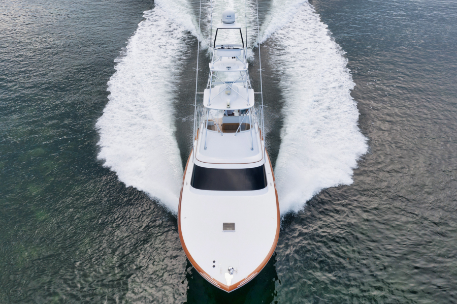 Bow and Foredeck View