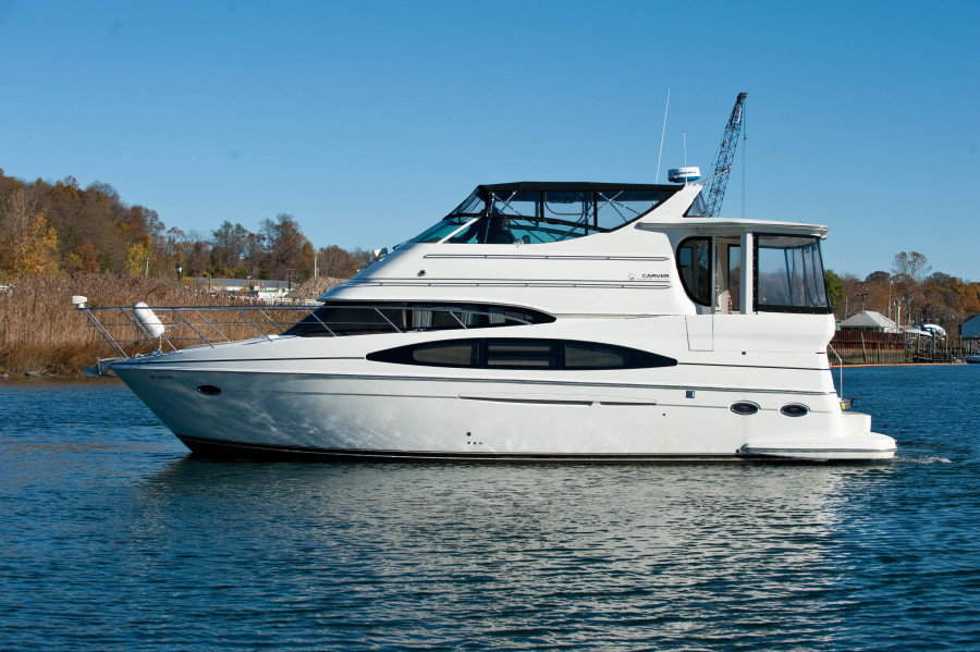 Carver-466 Motor Yacht 2004 -Haverstraw-New York-United States-Port Side-1313916-featured