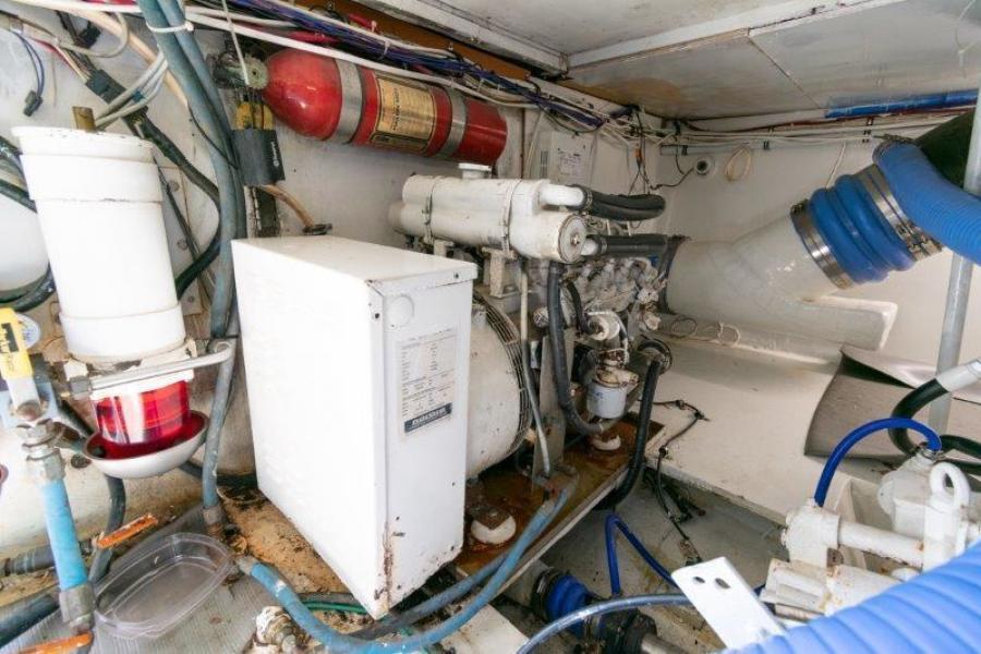 Starship Sportfish 1990 Current Control