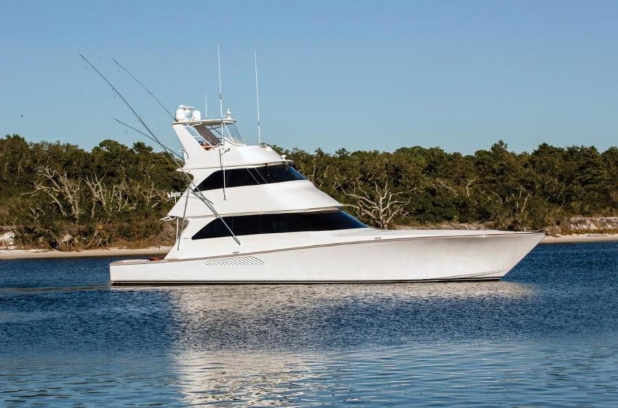 Viking-68 Enclosed Bridge 2008-Liquid Apple Palm Beach-Florida-United States-Profile-1328470-featured