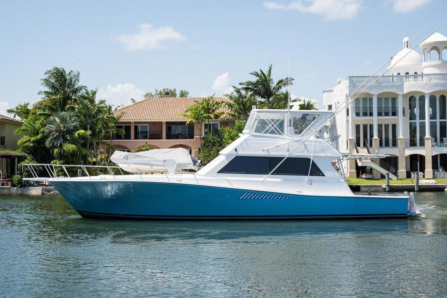 Viking-58 Convertible (PAINTED) 1995-Great Grief Coral Gables-Florida-United States-Port Profile-1328701-featured