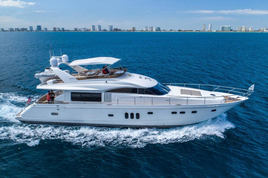 Viking Sport Cruisers-75 Motor Yacht 2008-Silver Lining Dania Beach-Florida-United States-Starboard Profile-1329564-featured