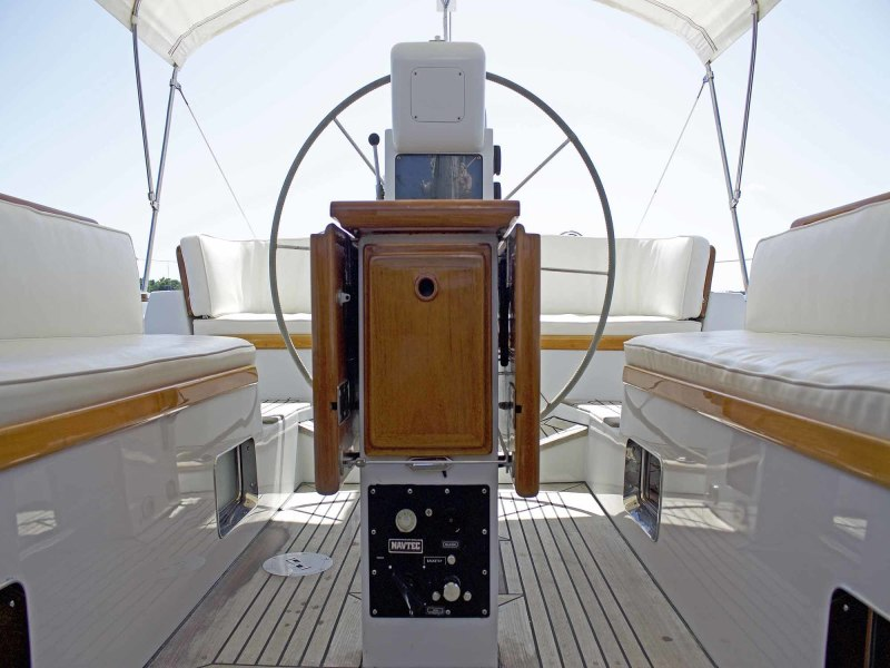Cockpit, Looking Aft