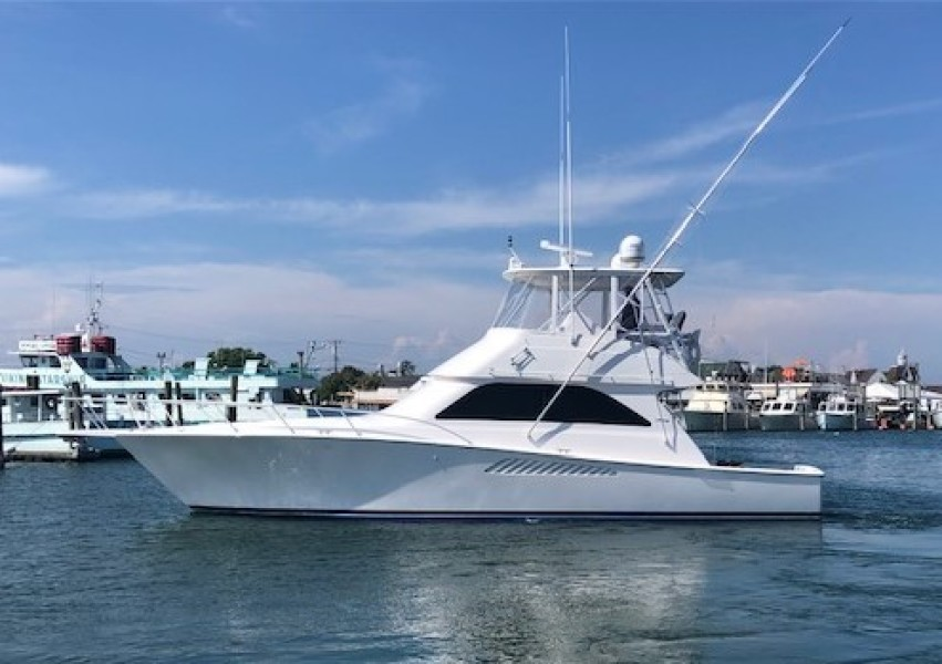 Viking-45 Convertible 2005-JACKPOT Montauk-New York-United States-Port Side-1464120-featured