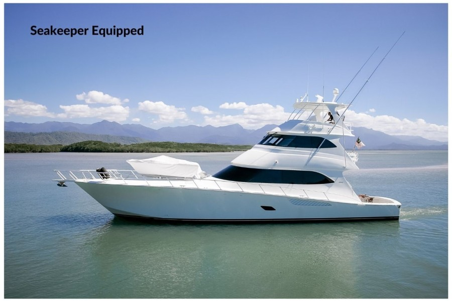Photo of 76' Viking 76 Enclosed Skybridge 2012