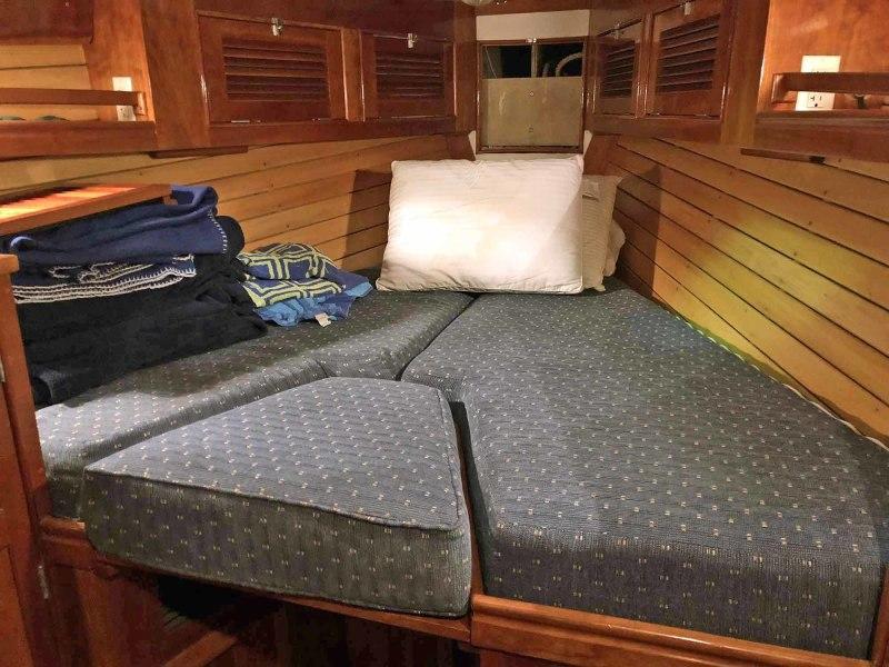 Master Cabin V-berth