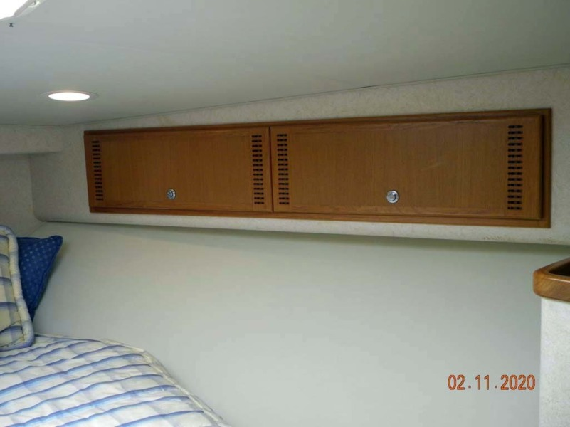 Master Stateroom Sheer Lockers (Port And Starboard)