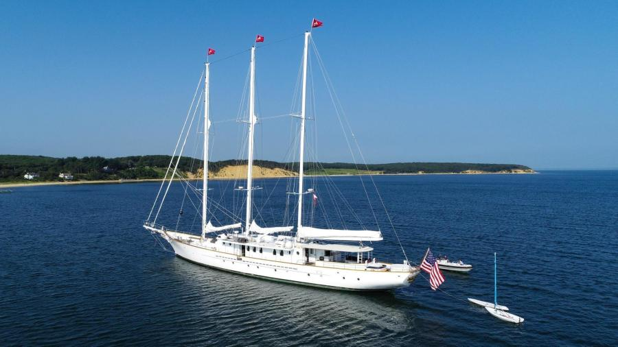 157' 1983 Palmer Johnson Tri-Masted Staysail