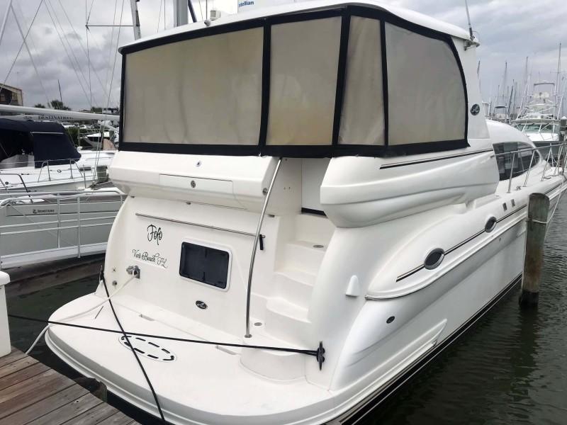 Full Enclosure and Starboard Aft Quarter