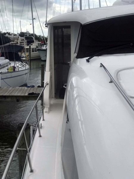 Starboard Side Walkway