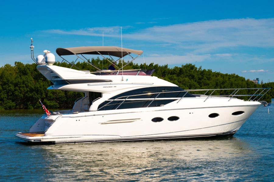 Princess-43 Flybridge 2018-Tenacious Tampa-Florida-United States-2018 43 Princess Yachts Flybridge   Tenacious  Profile-1386701-featured
