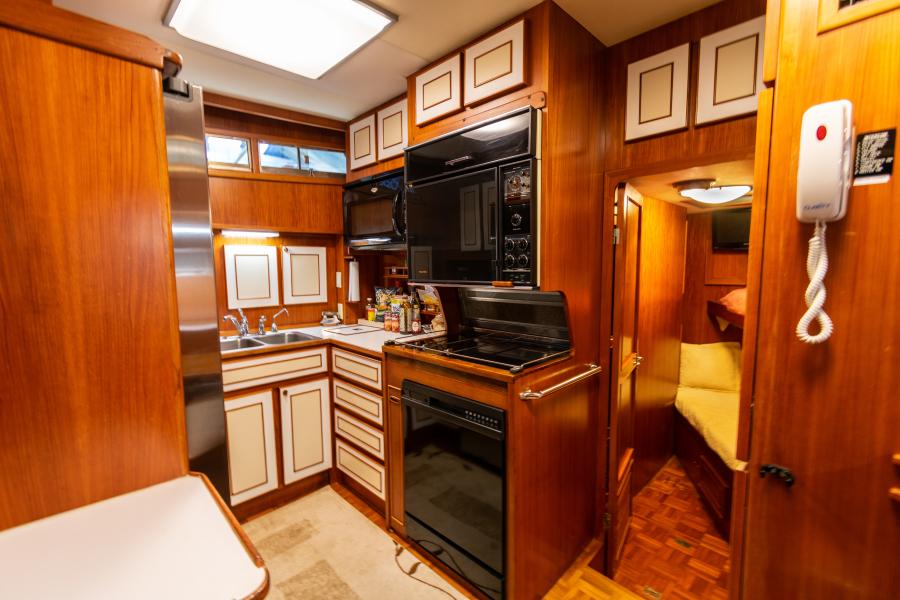 Jefferson 65 Motor Yacht 1989 Moon Palace Galley