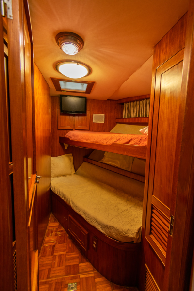 Jefferson 65 Motor Yacht 1989 Moon Palace Guest Stateroom