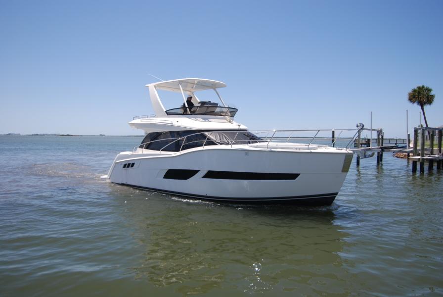 Carver Command Bridge 2019-White Swan Dunedin-Florida-United States-1396060-featured