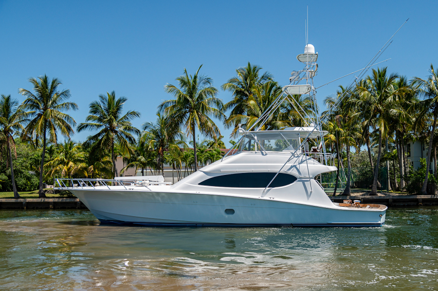 Hatteras-Convetible 2005-5 Js Coral Gables-Florida-United States-Port Profile-1388852-featured