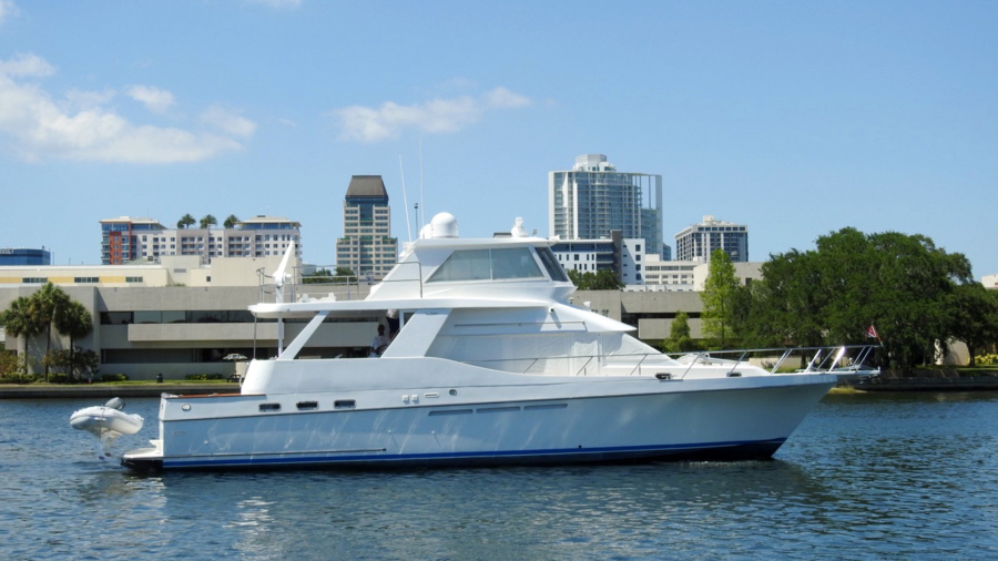 Ocean Alexander-Yachtfish Command Bridge 1998-Melodious St. Petersburg-Florida-United States-1427901-featured