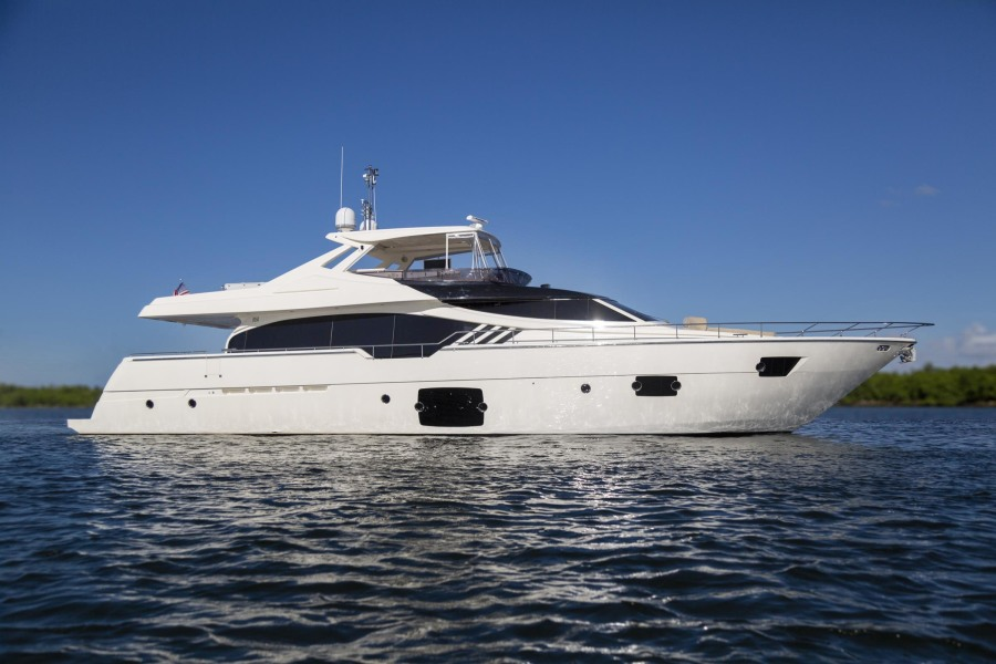 photo of 87' Ferretti Yachts High Performance 2013