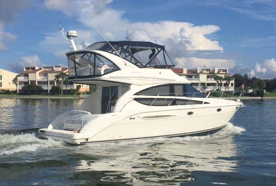 Meridian-391 Sedan 2006 -Treasure Island-Florida-United States-Starboard Profile  Underway-1396348-featured