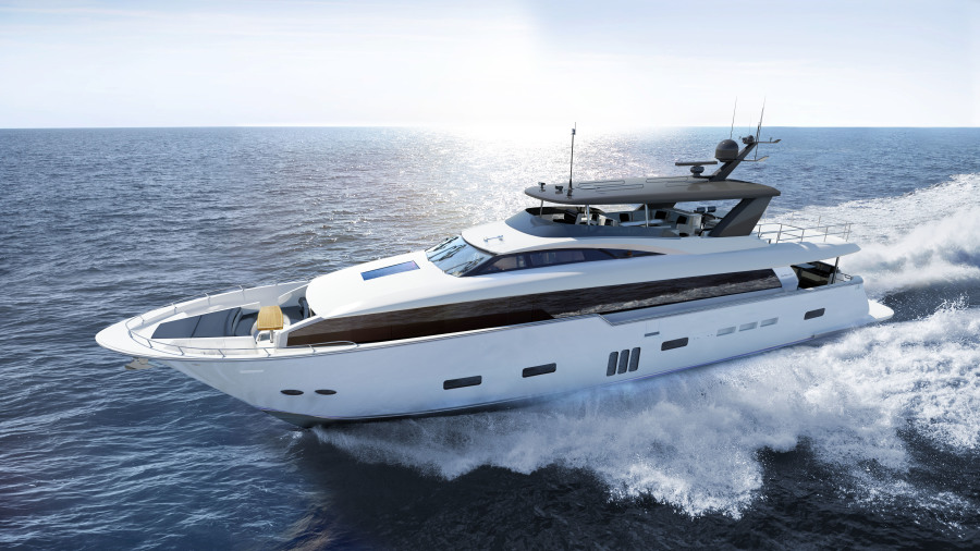 Photo of 105' Hatteras 105RPH 2021
