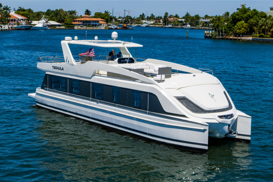 photo of 64' Overblue 58 Power Catamaran 2017