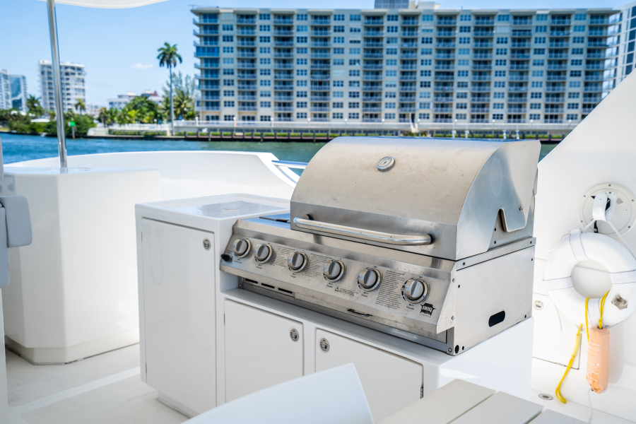 2017 Overblue 58 Powercat BBQ