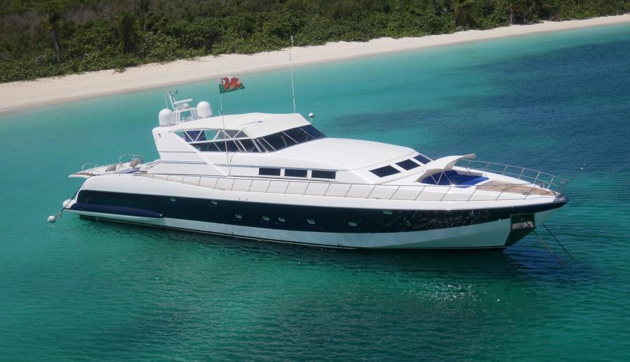 Mangusta-Motoryacht 1998 -Miami-Florida-United States-Mangusta 105-1400770-featured