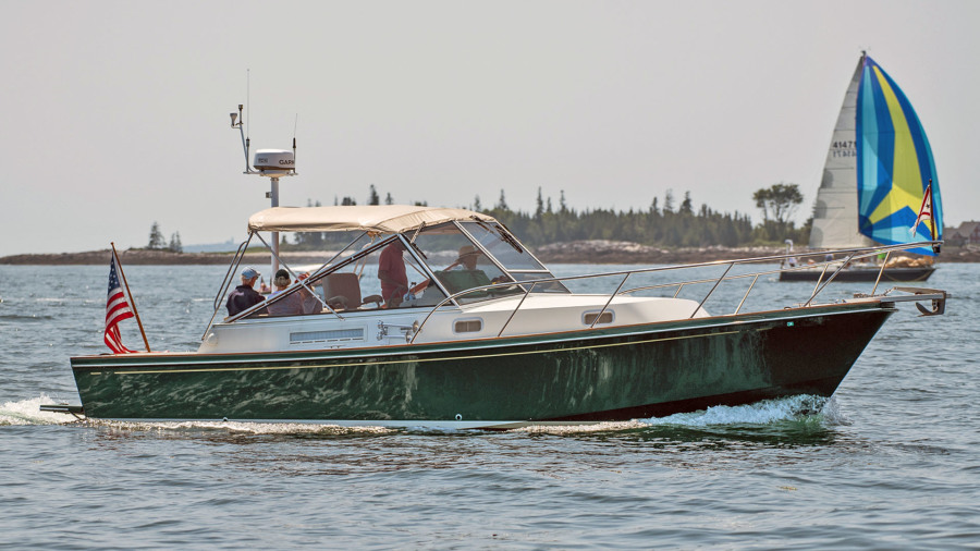 Little Harbor-WhisperJet 34 2000-NOMAD Boothbay-Maine-United States-NOMAD-1401106-featured