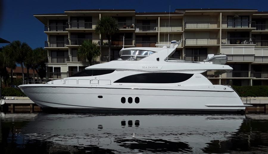 Hatteras-Motor Yacht 2004-SEA DOZER Florida-United States-80 Hatteras SEA DOZER-1407665-featured