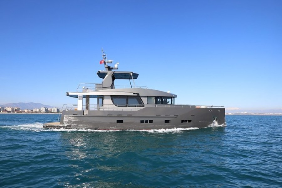 photo of 70' Bering Expedition Yacht 2019