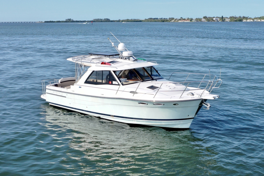 Cutwater-30 Sport Top 2014-Cay Sea Cortez-Florida-United States-2014 30 Cutwater Sport Top  Cay-Sea  Main Profile-1404825-featured