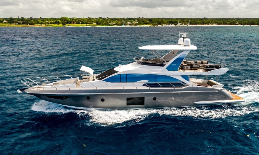 Azimut-66 Flybridge 2019-ALISIUS Casa De Campo-Dominican Republic-1405791-featured