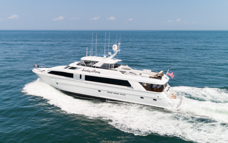 Hatteras-100 Motor Yacht 2001-Sunday Money Montauk-New York-United States-1407491-featured