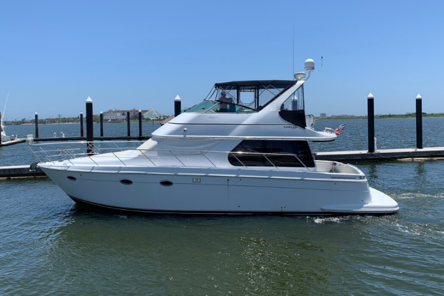 Carver-46 Voyager 2003-Dos Locos Galveston-Texas-United States-Carver 46 Voyager 2003 Dos Locos-1438814-featured