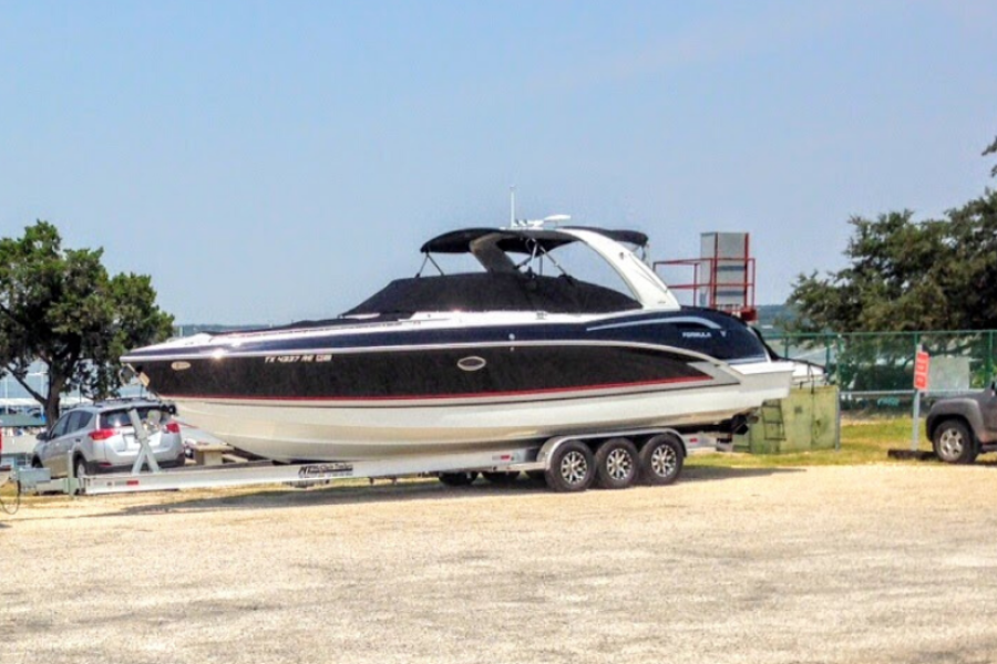 Formula-35 Crossover Bowrider 2014-Lake Oasis Canyon Lake-Texas-United States-Formula 350 Crossover Bowrider 2014 -1410932-featured