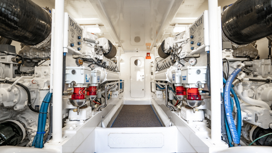 2010 Donzi 80 Convertible - Marlene Sea IV - Engine Room