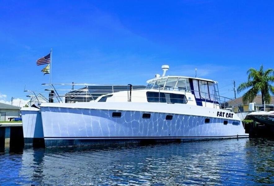 Endeavour Catamaran-TrawlerCat 2002 -Florida-United States-1412300-featured