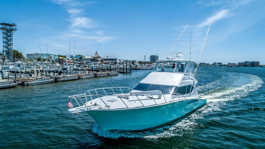 Hatteras-54 Convertible 2006-Bad To The Bone Destin-Florida-United States-1414557-featured