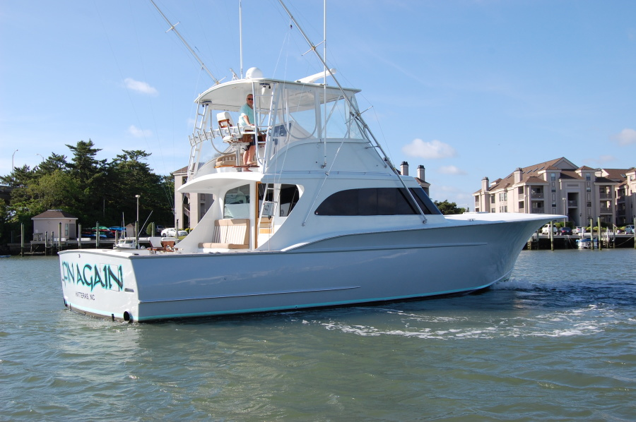 Photo of 48' Custom Carolina 48 Sleep Creek Boatworks/Gary Davis 1989