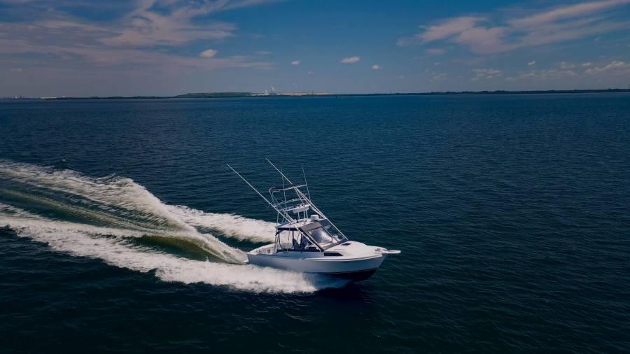 1989 Blackfin 29 Starboard Running