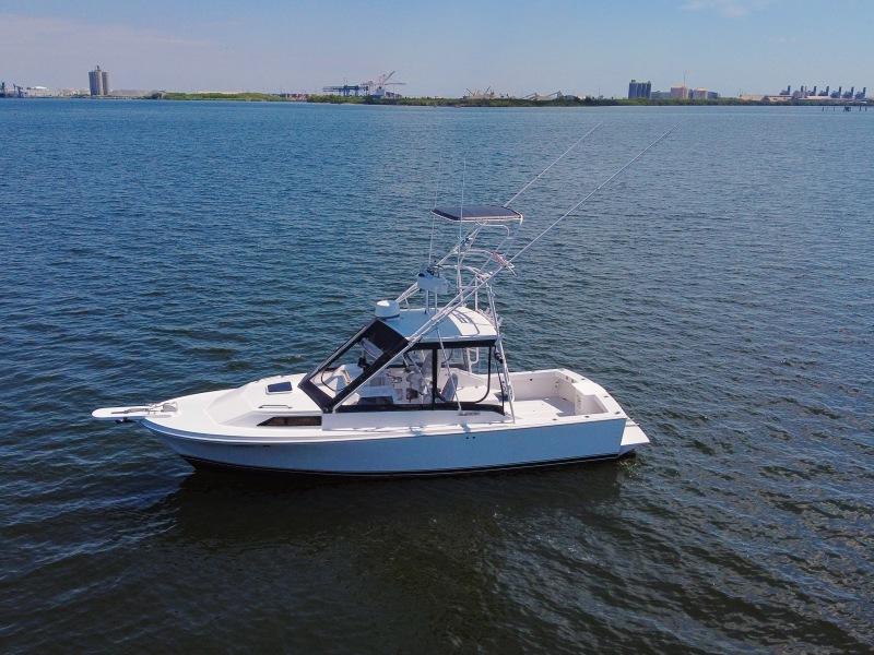1989 Blackfin 29 Port Profile
