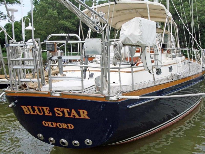 Blue Star Transom
