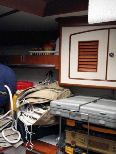 Blue Star Forepeak Storage Workbench