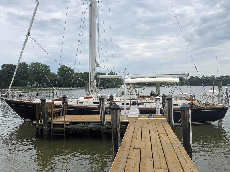Blue Star At Dock, Port Profile