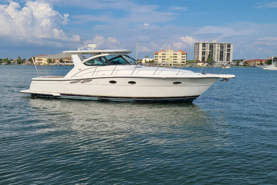 Tiara-3800 Open 2005-Never Enough Clearwater Beach-Florida-United States-2005 38 Tiara Open Yacht  Never Enough  Profile-1424471-featured
