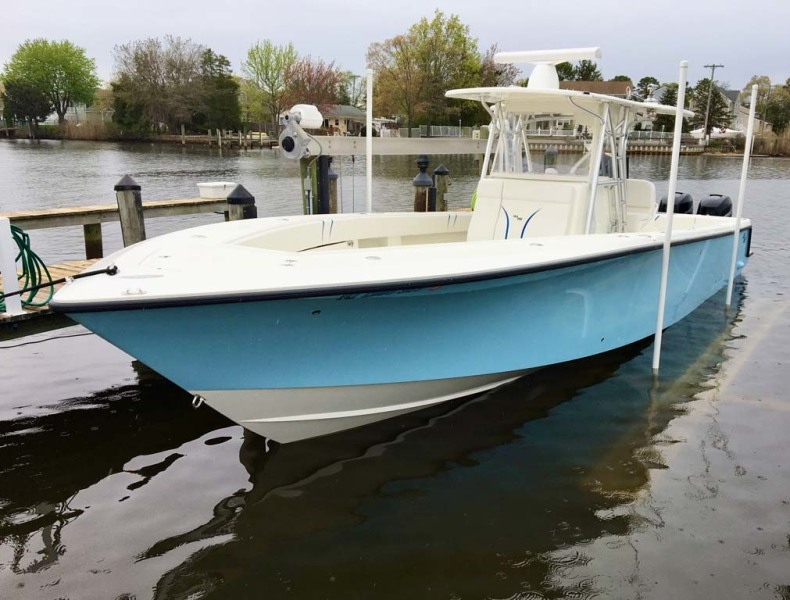 SeaVee-390B Center Console 2019-No Whey Toms River-New Jersey-United States-Port Profile-1424898-featured