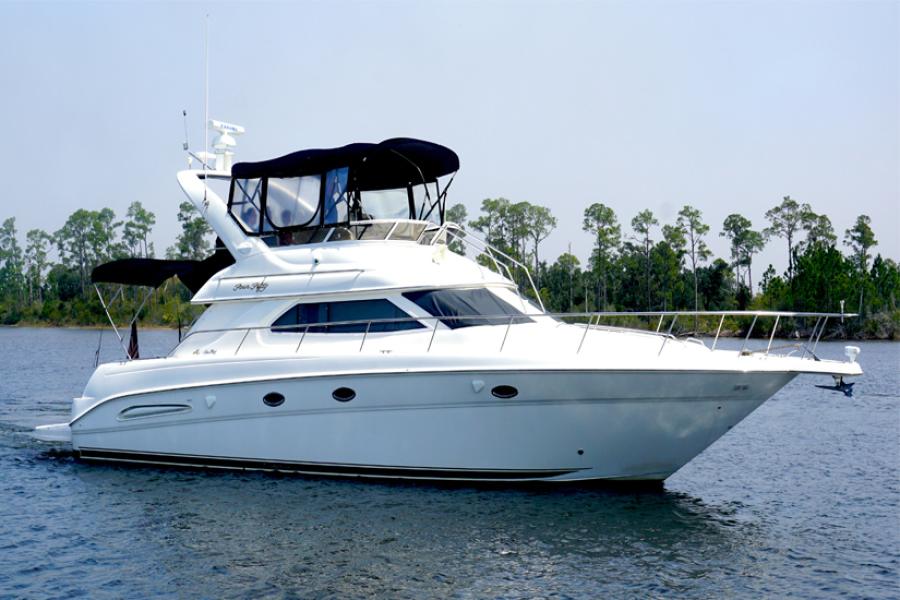 Sea Ray-45 Express 2000-Sea Haven Pensacola-Florida-United States-2000 45 Sea Ray Sea Haven Profile-1426549-featured